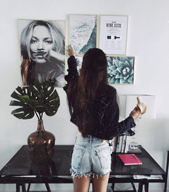 Maak je 'home office' net zoals op Pinterest met Desenio.